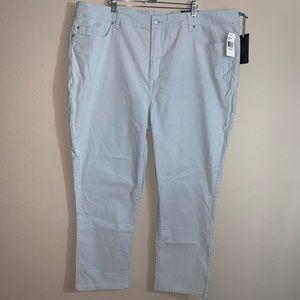 NYDJ Ankle tummy control pants 24W